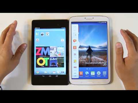 Samsung Galaxy Tab 3 8.0 Vs. Google Nexus 7 (2nd Generation)