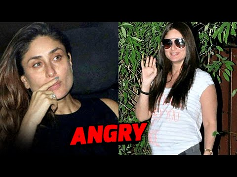 Kareena Kapoor ANGRY REACTION On Her Pregnancy