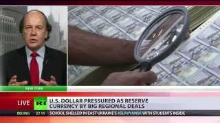 'Very bad news for dollar': Bucks slipping as world's reserve (currency) 5/28/14