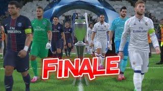 PSG vs Real Madrid | Finale UEFA Champions League 2016/2017 | PES 2017 #07