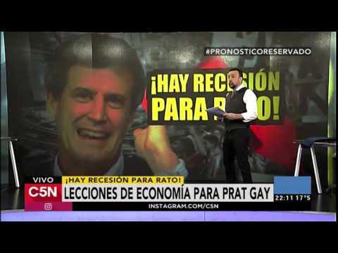 La lección de economía a Prat-Gay