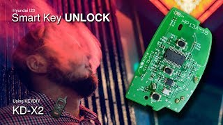 Hyundai i20 Smart Key Unlock | Key Renew | Using KD-X2