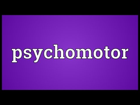 Header of psychomotor