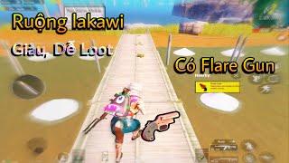"PUBG Mobile | ""Ruộng Muối"" Lakawi Vừa Giàu Vừa Dễ Loot Lại Có ""Flare Gun"""