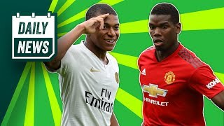 Mbappe is in hot water + Pogba vs Mourinho update ► Daily Football News