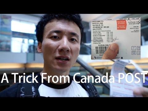 我拿不到包裹!A trick from Canada Post got me!