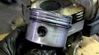 Briggs and Stratton Engine Disassembly Part 1 of 2