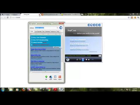 CĐ thực hành FPT-PH01844- Hướng dẫn sử dụng phần mềm sopcast
