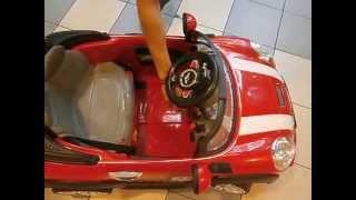 Mini Cooper Remote Control Baby Car
