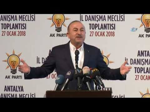 Dışişleri Bakanı Çavuşoğlu: Bize Kimse Akıl Dersi Vermesin!