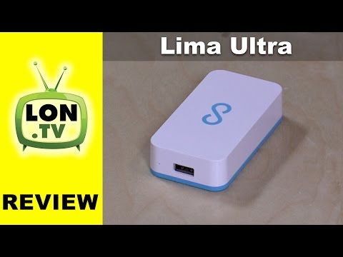 Lima Ultra NAS Review - Dropbox-Like Hardware Using External Hard Drives
