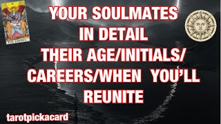 Your soulmate details,,their age/career/ initials.. when you'll reunite pickacard