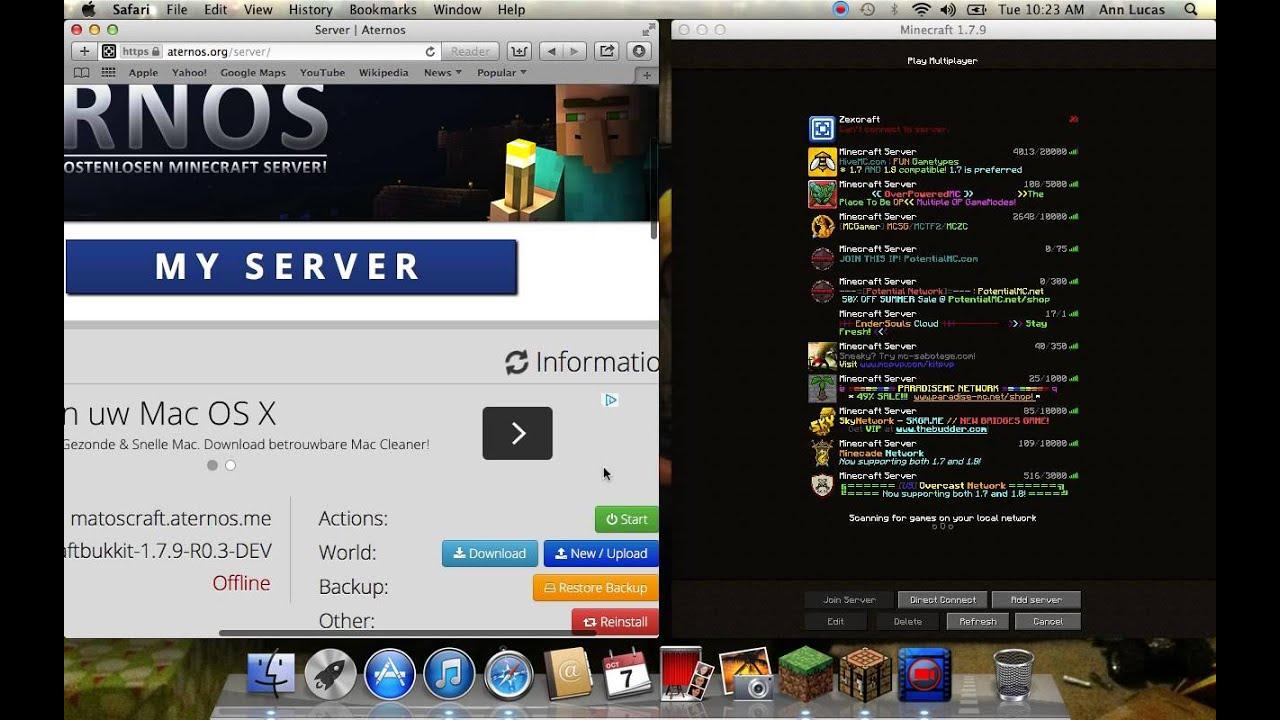 Server Minecraft Aternos UrbandistrO - Minecraft server erstellen mit aternos