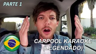 One Direction Carpool Karaoke (Legendado - PT/BR) - Parte 1/4