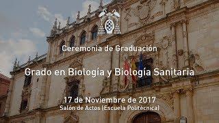 Graduación del Grado en Biología y Biología Sanitaria