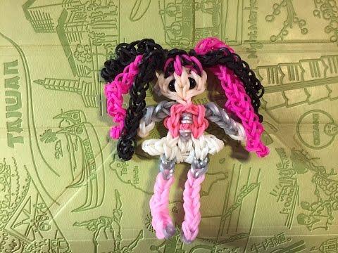 Куклы из резинок для плетения видео