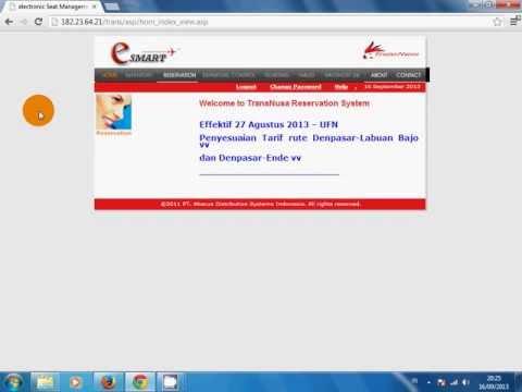 Cara Booking Tiket TransNusa