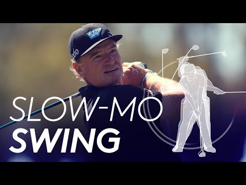 Ernie Els' golf swing in Slow Motion