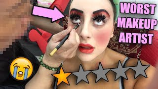 I WENT TO THE WORST REVIEWED MAKEUP ARTIST IN DUBAI 😡😡 (AGAIN!!)
