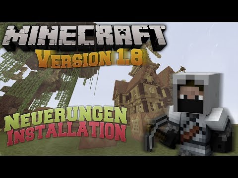 Minecraft 1.8 was ist neu + Installationsanleitung [FullHD] [Deutsch]