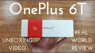 OnePlus 6T Full Unboxing! (Real World Review)