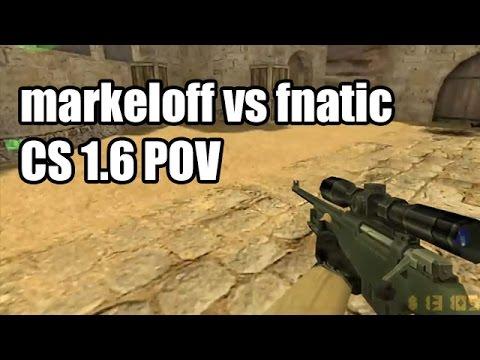 POV: markeloff vs. fnatic @ESWC Na'Vi CS 1.6 Demo