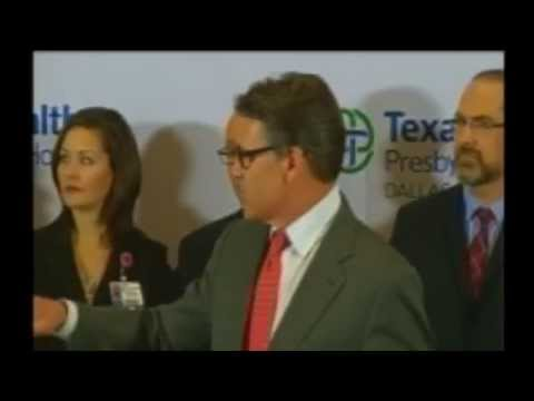LIVE VIDEO: Rick Perry Ebola Virus Press Conference