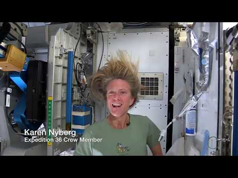 Astronaut Tips: How to Wash Your Hair in Space | Video