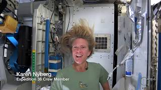 How To Wash Hair In Outer Space