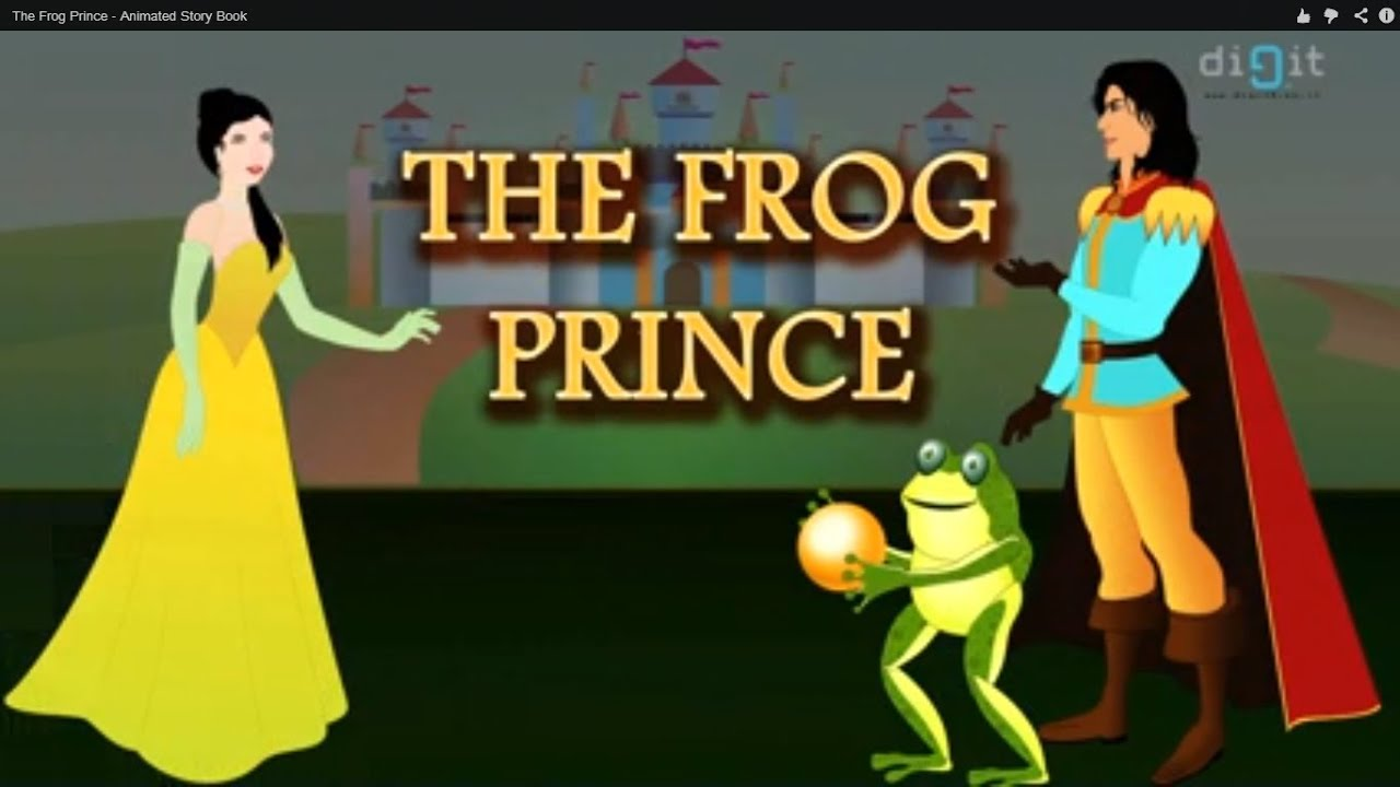 the frog prince book report The frog prince: a brothers grimm story told as a novella is a children's fable of  years gone by written by mike klaassen as prince gerit of.