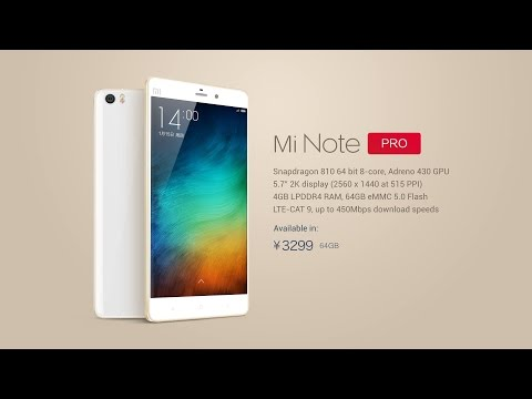 NEW Xiaomi Mi Note & Mi Note Pro Official! Galaxy Note 4 & iPhone 6 Plus Rival Phone (2)