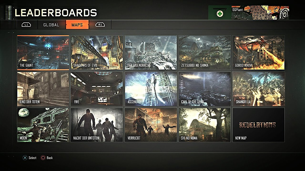 Call Of Duty Black Ops  All Zombie Maps Youtube