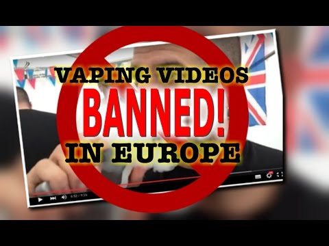 This vaping video is ILLEGAL!