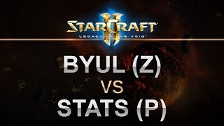 StarCraft 2 - Legacy of the Void - 2017 - ByuL (Z) v Stats (P) Best of 5!