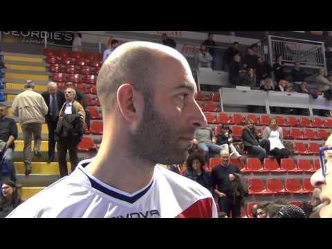 29-03-2015: Marco Piscopo nel post Lube-Molfetta