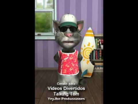 Videochiste: Esta Noche Tengo La Casa Sola - Videos Divertidos Talking Tom