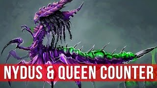 StarCraft 2: The Nydus & Queen Counter! (Game Analysis)