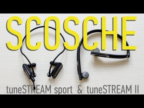Обзор Bluetooth наушников Scosche tuneSTREAM sport и tuneSTREAM II | UiP