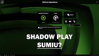 Meu Nvidia shadowplay sumiu e agora? Como usar o novo Nvidia Share GEFORCE EXPERIENCE 3.0