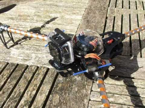 Turnigy Tricopter Build & Test Flight (1st multicopter build)