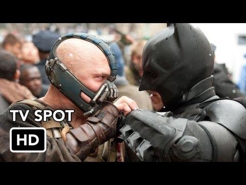 Dos nuevos spots publicitarios para televisión de The Dark Knight Rises