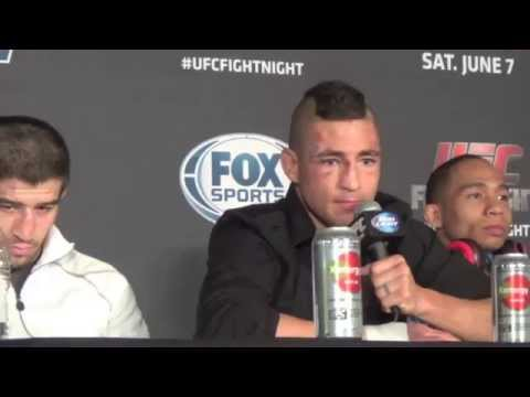 UFC Fight Night 42 Post Fight Press Conference Benson Henderson vs. Rustam Khabilov Image 1