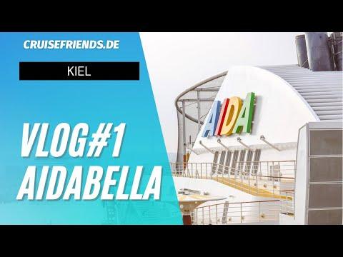 AIDAbella 21.10.2018 Reisetagebuch Tag 1 Kiel Norwegens Fjorde 4 AIDA Bella Vlog