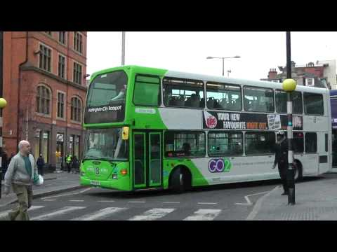 NOTTINGHAM BUSES MARCH 2012