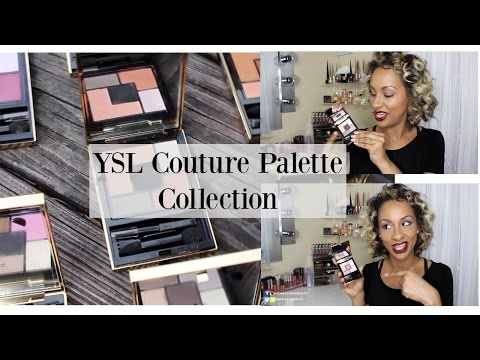 From My Collection   YSL Couture Palettes   Swatches + Mini Reviews