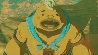 The Legend of Zelda: Breath of the Wild boos