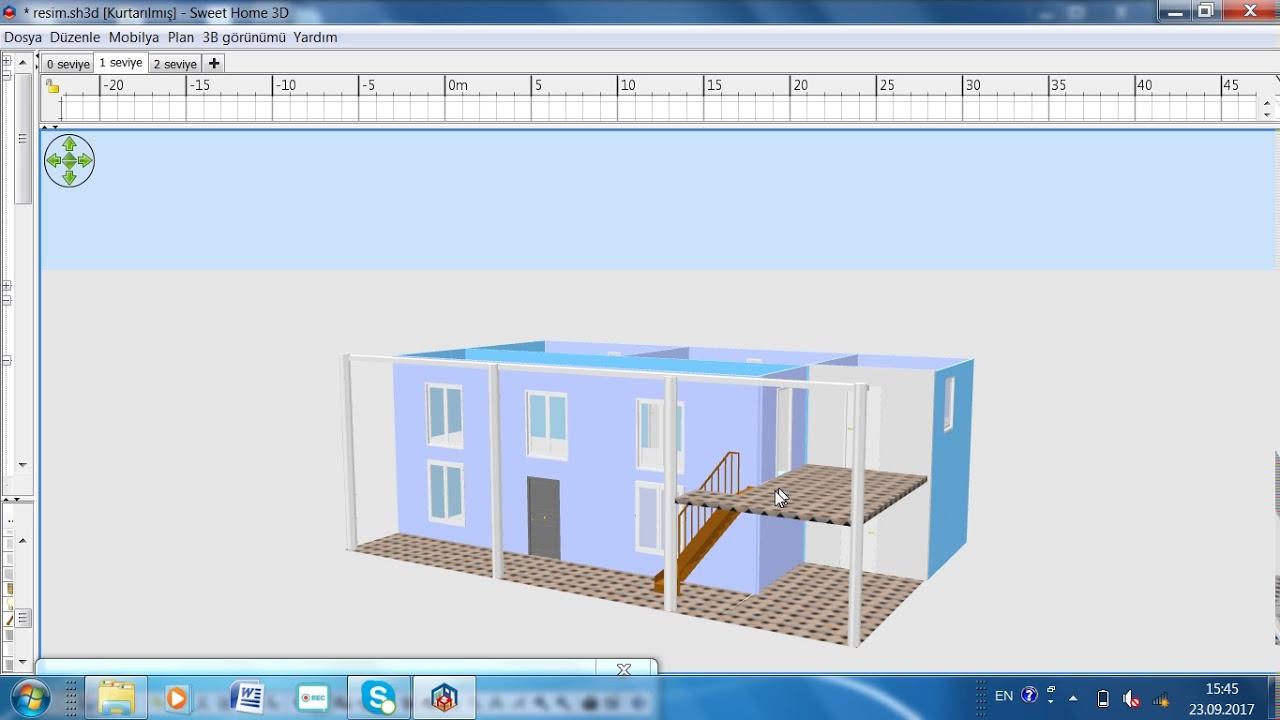 Как сделать крышу в 3d sweet home 3d 871