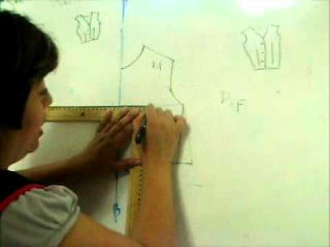 Clases de corte y confeccion.Como usar el sistema mexico 2 parte