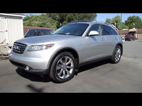 2004 infiniti fx35 start up exhaust and in depth tour