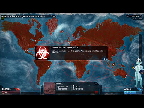 TAKE THAT GAME!! HA - Plague Inc Evolved - Nano Virus douchevirus